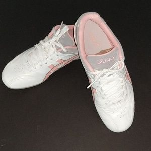 Asics Shihan pink and white sneakers shoes